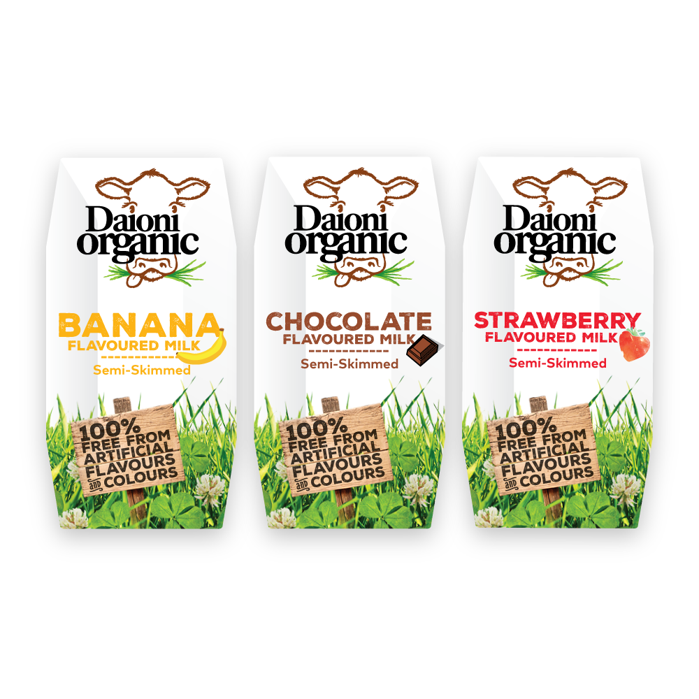 Organic Flavoured UHT Milk